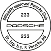 Officially approved Porsche Club 233